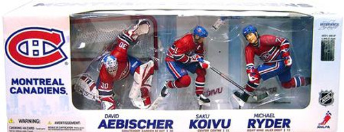 McFarlane Toys NHL Sports Picks Exclusive 3-Pack Montreal Canadiens Exclusive Action Figure 3-Pack