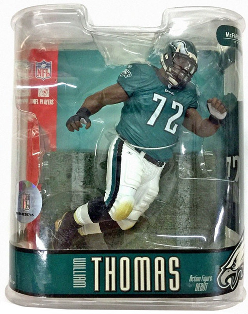 McFarlane Toys NFL Philadelphia Eagles Sports Picks Series 15 William Thomas Action Figure
