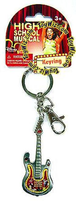 Disney High School Musical Pewter Guitar Keyring #27035