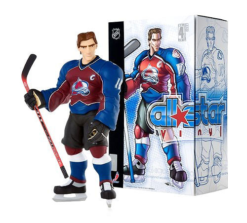 NHL Colorado Avalanche All Star Vinyl Joe Sakic Vinyl Figure [Red & Blue Home Jersey]