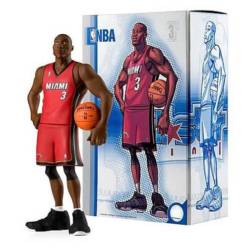 NBA Miami Heat All Star Vinyl Dwyane Wade Vinyl Figure [Red Away Jersey]