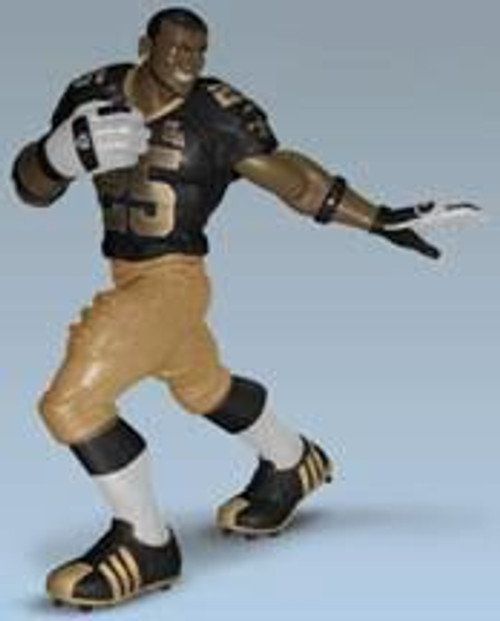 NFL New Orleans Saints All Star Vinyl Reggie Bush Vinyl Figure [Black Jersey / Gold Pants]