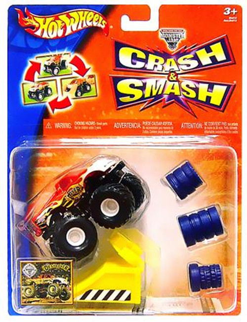 Hot Wheels Smash & Crash Monster Jam Destroyer Diecast Vehicle