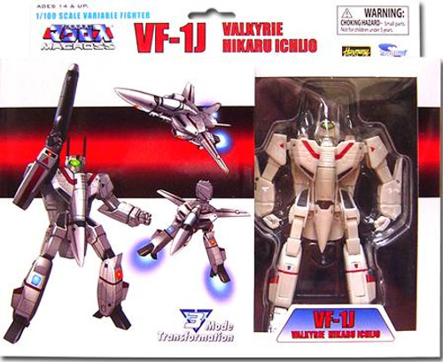 Robotech Macross Transformable Series 2 Veritech Fighter Hikaru Ichijo's VF-1J Action Figure