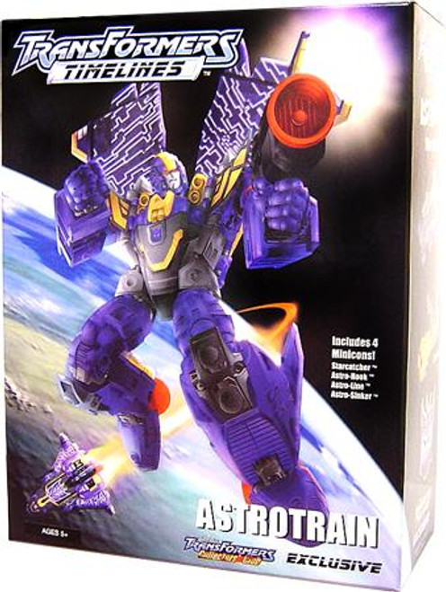 Transformers Timelines Collector's Club Exclusives Astrotrain Exclusive Action Figure