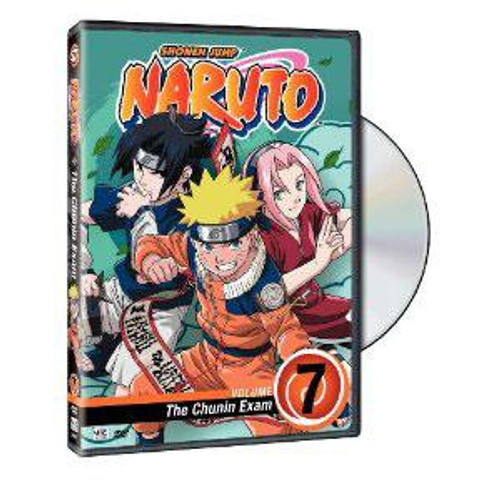 Naruto The Chunin Exam DVD #7 [Volume 7]
