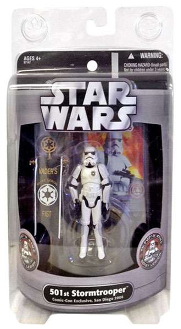 Star Wars Expanded Universe Exclusives 2006 501st Stormtrooper Exclusive Action Figure