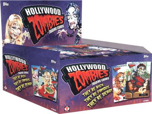 Hollywood Zombies Series 1 Trading Card Box