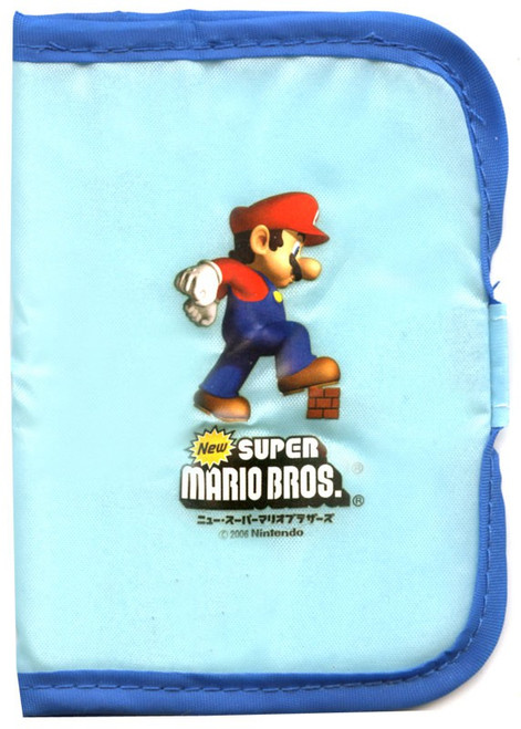 Super Mario Bros Thin 3x4-Inch Wallet [Blue & Light Blue]
