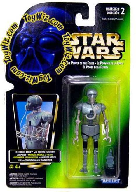 Star Wars Empire Strikes Back Power of the Force POTF2 Collection 2 2-1B Medic Droid Action Figure [Photo Card]