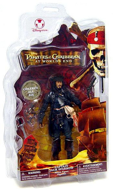 Disney Pirates of the Caribbean At World's End Captain Jack Sparrow Exclusive Action Figure