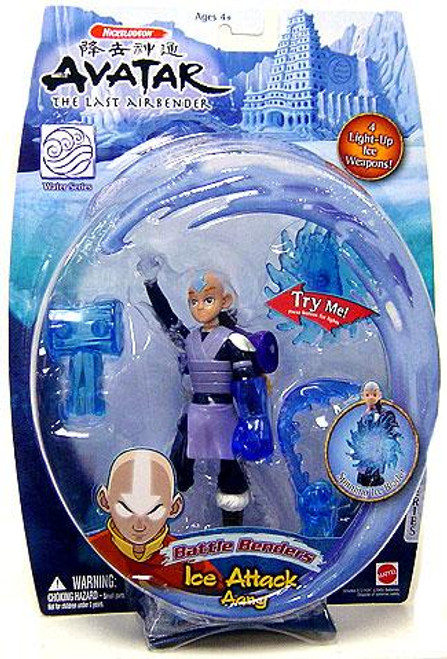 Avatar the Last Airbender Battle Benders Aang Action Figure [Ice Attack]