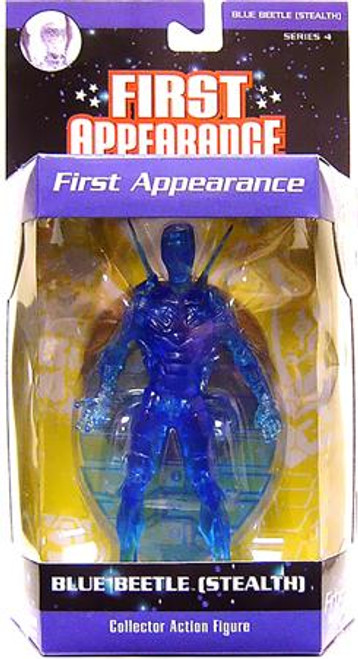 DC First Appearance Series 4 Blue Beetle Action Figure [Stealth]