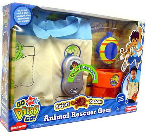 Fisher Price Go Diego Go! Animal Rescuever Gear Roleplay Toy