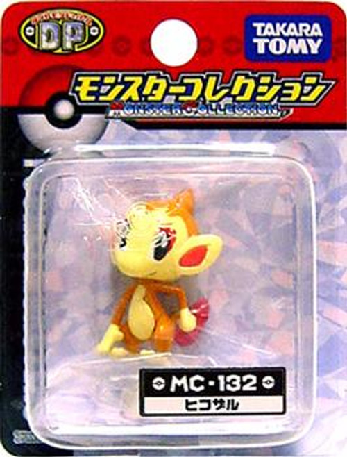 Pokemon Diamond & Pearl Monster Collection Chimchar PVC Figure MC-132 [Japanese]