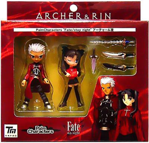 Fate Stay Night Archer & Rin PVC Figure Set