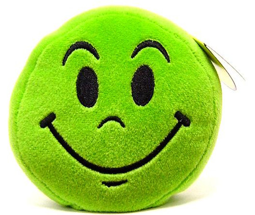 Wink Emoticons Smile Plush [Baby Pink]