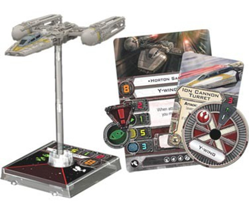 Star Wars X-Wing Miniatures Game Y-Wing Expansion Pack