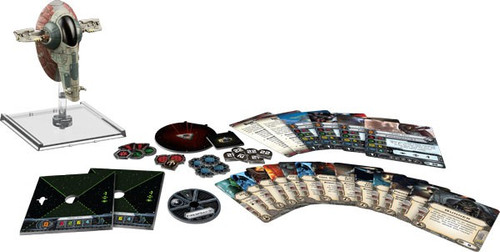 Star Wars X-Wing Miniatures Game Slave I Expansion Pack