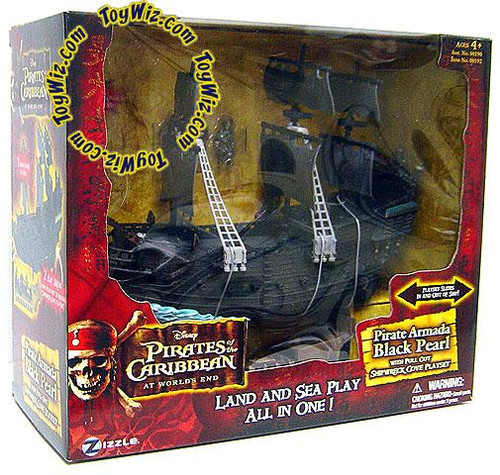 Pirates of the Caribbean At World's End Pirate Armada Black Pearl Micro Playset