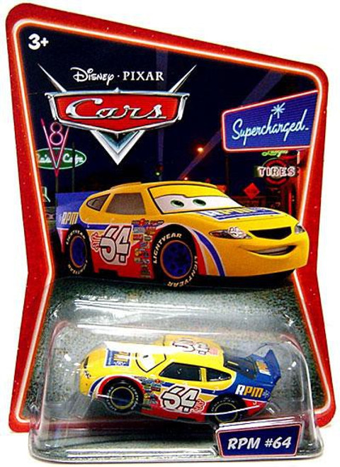 Disney Cars Supercharged RPM No. 64 Diecast Car