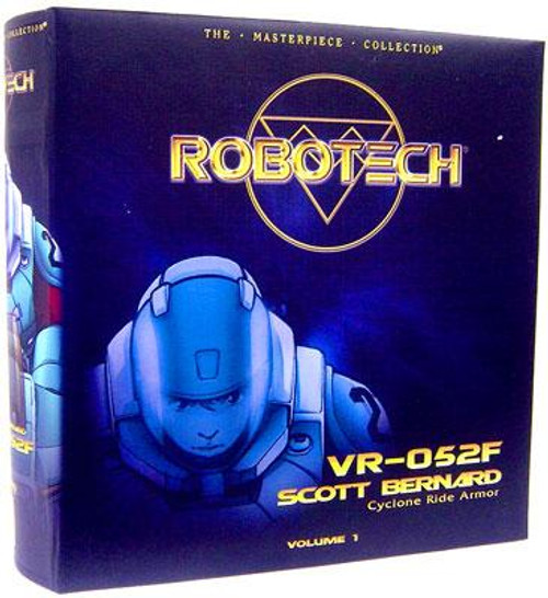 Robotech Macross Masterpiece Collection VR-0524 Scott Bernard Action Figure #1 [Cyclone Ride Armor]