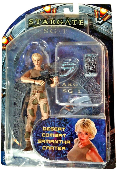 Stargate SG-1 Series 4 Samantha Carter Action Figure [Desert Camo]