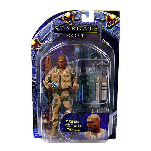 Stargate SG-1 Series 4 Teal'c Action Figure [Desert Camo]