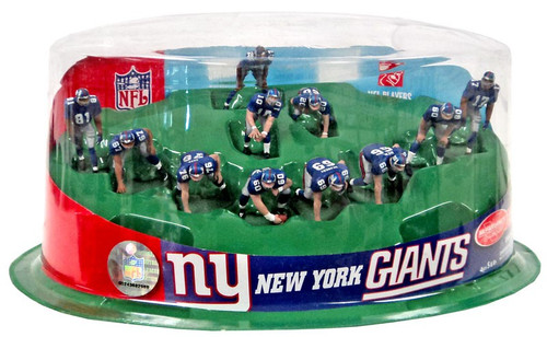 McFarlane Toys NFL Sports Picks Ultimate Team Sets New York Giants 2-Inch Team Set