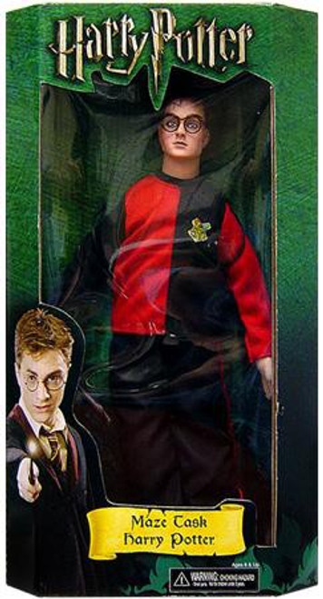NECA Harry Potter The Goblet of Fire Harry 12-Inch Doll [Maze Task]