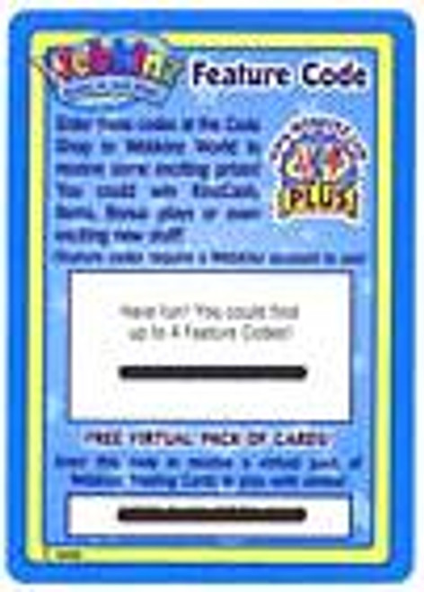 Webkinz Trading Card Game Series 1 Code Card