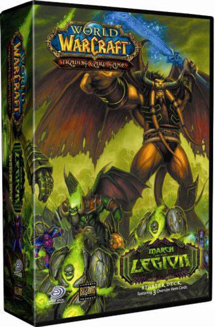World of Warcraft Trading Card Game March of the Legion Starter Deck [Random Class]
