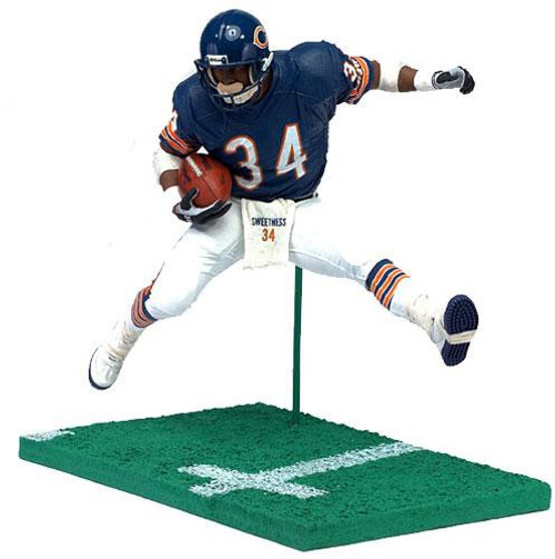 McFarlane Toys NFL Chicago Bears Sports Picks 12 Inch Deluxe Walter Payton Action Figure [Blue Jersey]