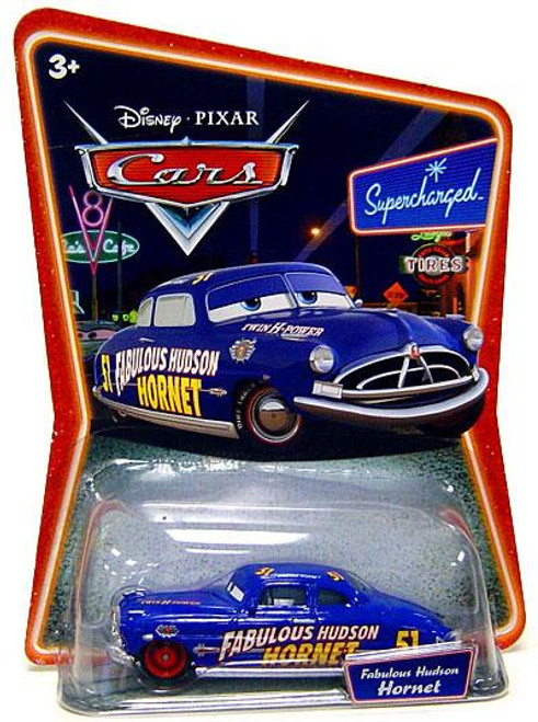 Disney Cars Supercharged Fabulous Hudson Hornet Diecast Car [Red Hub Caps]