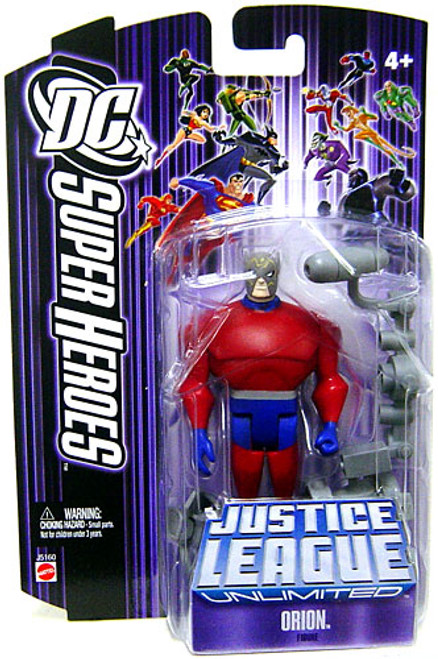 DC Justice League Unlimited Super Heroes Orion Action Figure