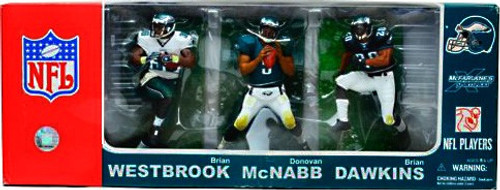 McFarlane Toys NFL Sports Picks 3-Packs Philadelphia Eagles Exclusive Action Figure 3-Pack