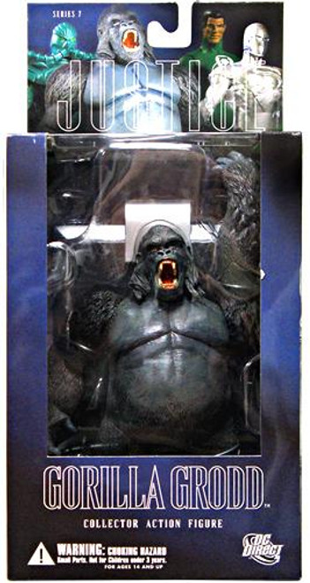 DC Alex Ross Justice League Series 7 Gorilla Grodd Action Figure