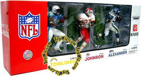 McFarlane Toys NFL Sports Picks 3-Packs Elite Club Running Backs Exclusive Action Figure 3-Pack