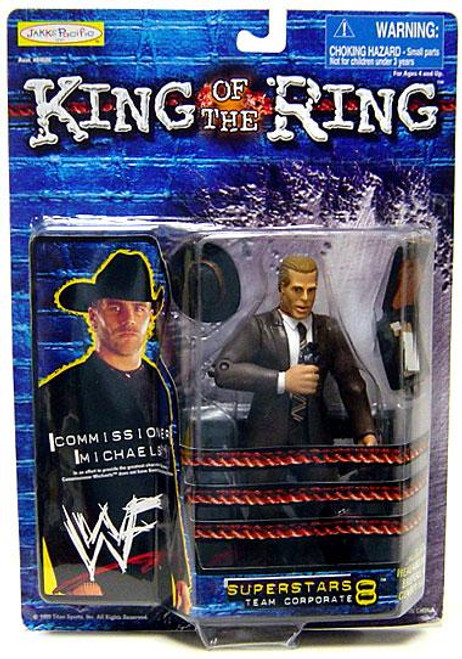 WWE Wrestling WWF King of the Ring Superstars Commissioner (Shawn) Michaels Action Figure