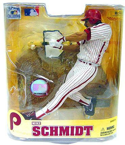 McFarlane Toys MLB Philadelphia Phillies Cooperstown Collection Series 5 Mike Schmidt Action Figure