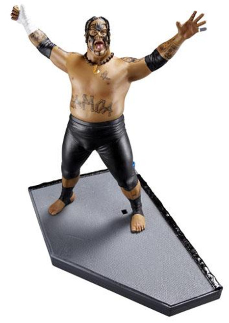 WWE Wrestling Unmatched Fury Series 4 Umaga Action Figure