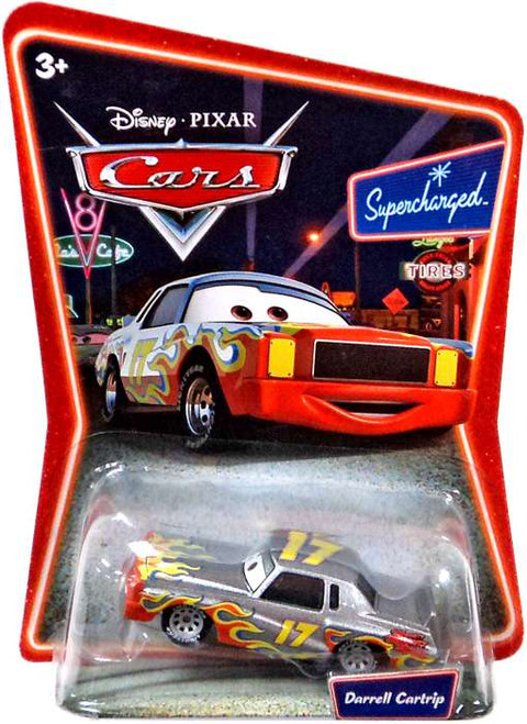 Disney Cars The World of Cars Series 1 Darrell Cartrip Diecast Car #43