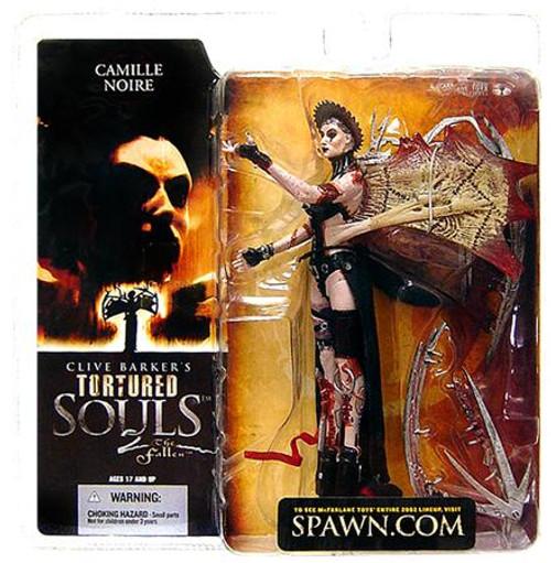 McFarlane Toys Clive Barker's Tortured Souls Tortured Souls 2 The Fallen Camille Noire Action Figure