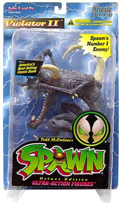 McFarlane Toys Spawn Series 3 Violator II Action Figure [Error, Damaged Package]