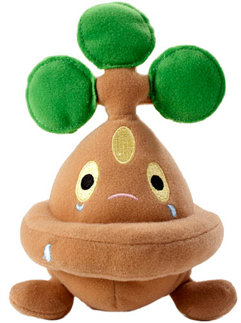 Pokemon Diamond & Pearl Mini Plush Bonsly 6-Inch Plush
