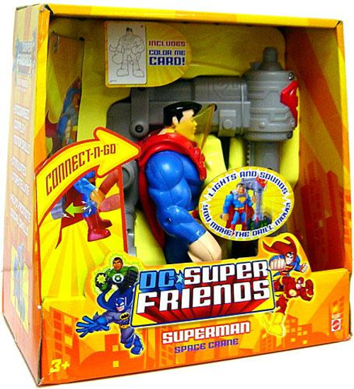 DC Super Friends Superman Action Figure [Space Crane]