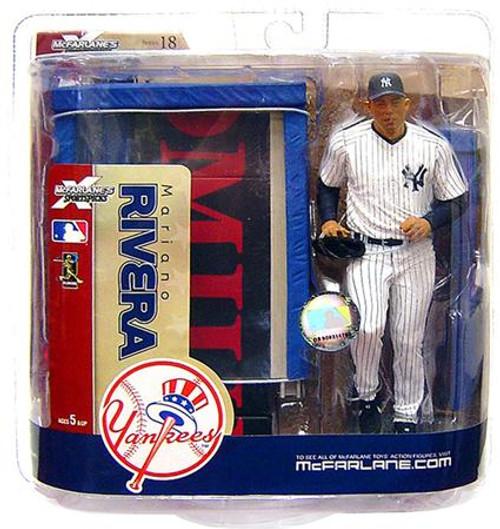 McFarlane Toys MLB New York Yankees Sports Picks Series 18 Mariano Rivera Action Figure [Full Bullpen Variant]