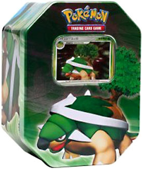 Pokemon Diamond & Pearl 2007 Holiday Torterra Collector Tin