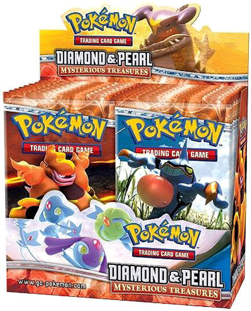 Pokemon Diamond & Pearl Mysterious Treasures Booster Box [36 Packs] [Sealed]