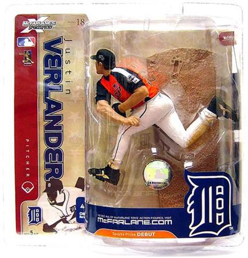 McFarlane Toys MLB Detroit Tigers Sports Picks Series 18 Justin Verlander Action Figure [Team USA Variant]